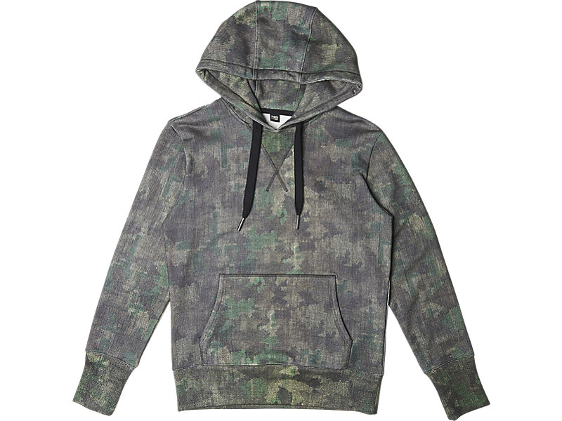 SWEAT HOODIE (GRAPHIC) KHAKI CAMO 1 FT