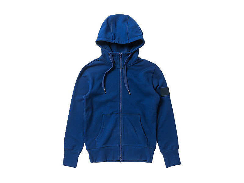 SWEAT ZIP HOODIE NAVY 1 FT