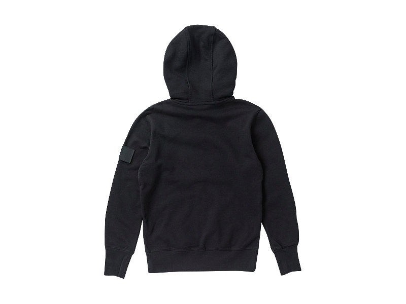 SWEAT ZIP HOODIE BLACK 5