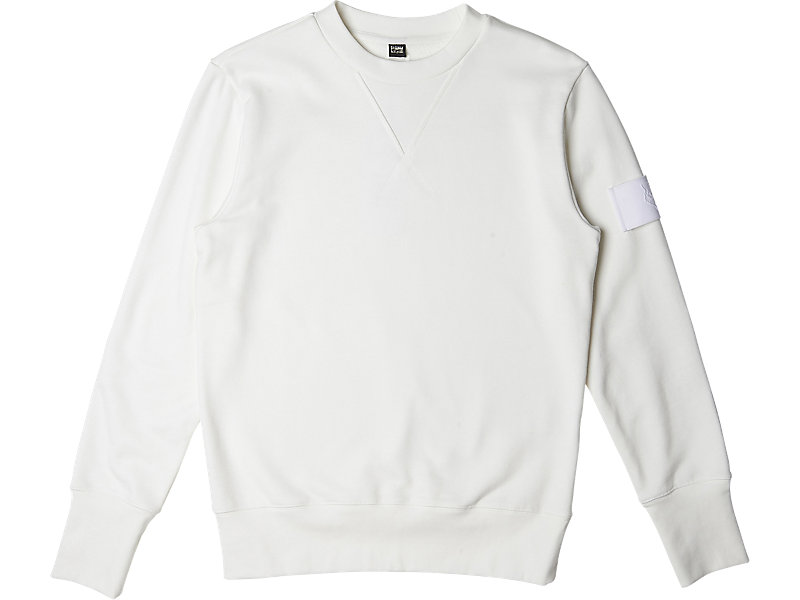 Sweat Shirt White 1 FT
