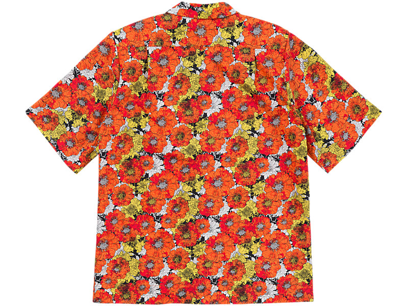 Flower Shirt Orange/White 5 BK