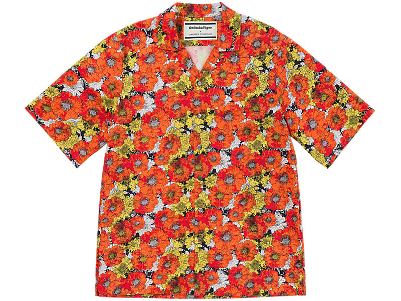 Flower Shirt Orange/White 1 FT