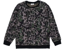 Camo Sweat Top