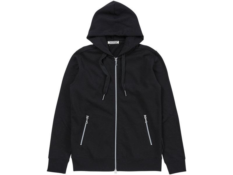 Sweat Zip Hoodie Black 1 FT
