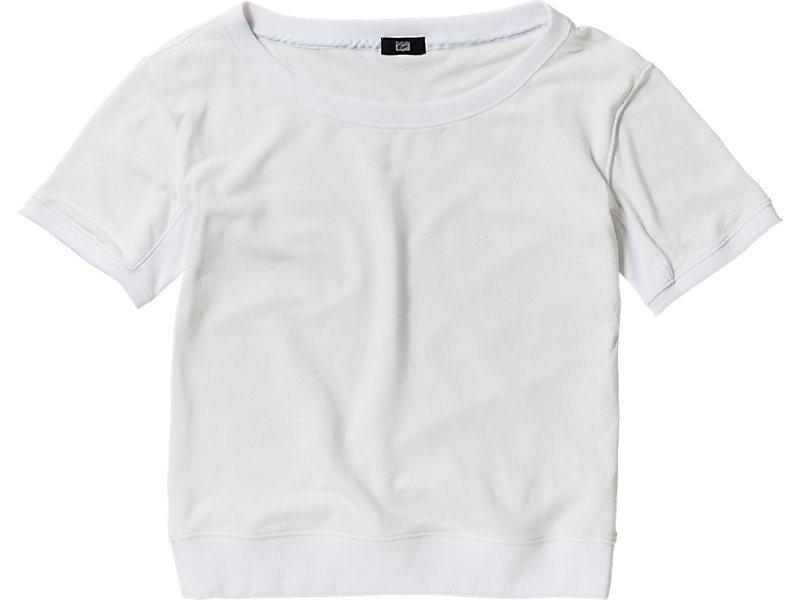 WOMENS  SWEAT TOP WHITE 1 FT