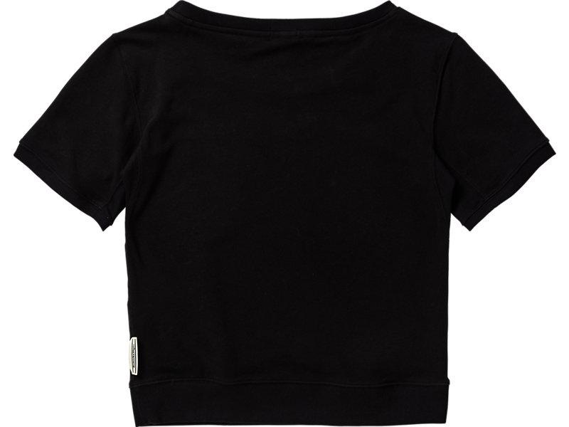 WOMENS  SWEAT TOP BLACK 5 BK