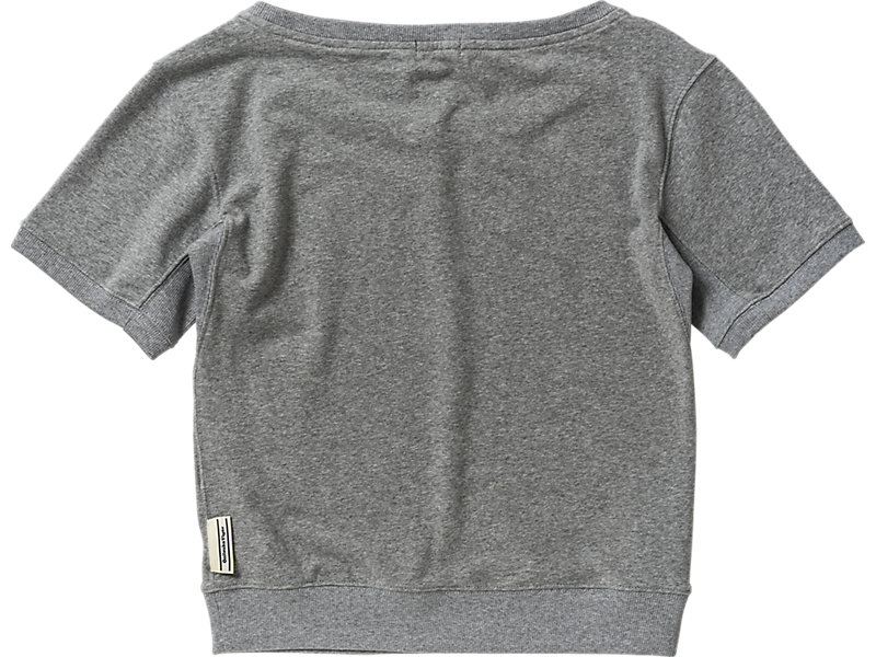 WOMENS  SWEAT TOP HEATHER GRAY 5 BK