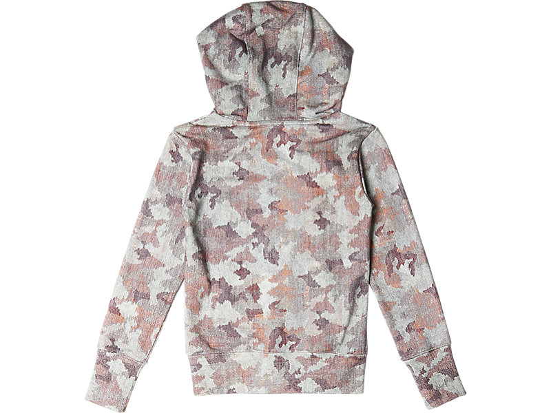Womens Graphic Hoodie Pink Camo 5