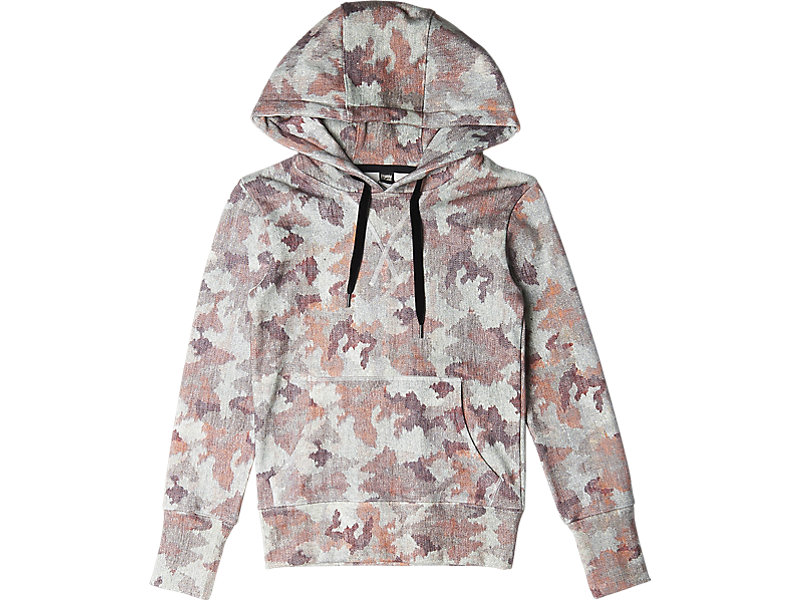 Womens Graphic Hoodie Pink Camo 1