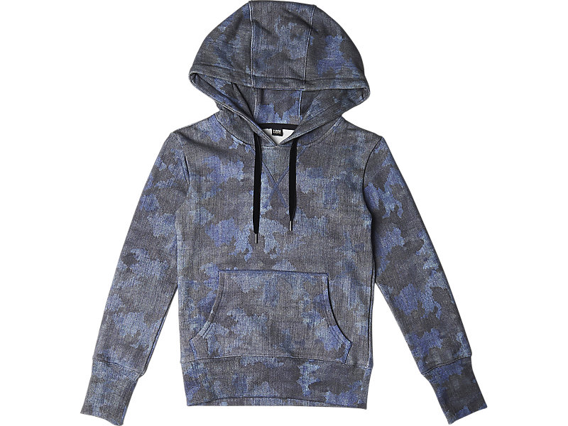 Womens Graphic Hoodie Navy Camo 1 FT