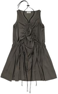 女式抽绳连衣裙