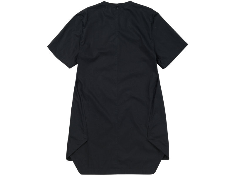 Short Sleeve Shift Dress BLACK 5 BK