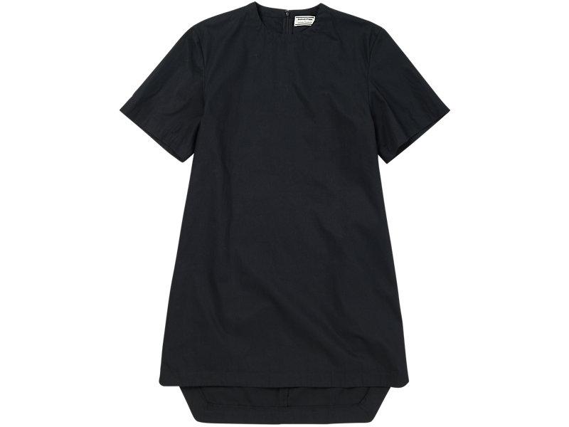 Short Sleeve Shift Dress BLACK 1 FT