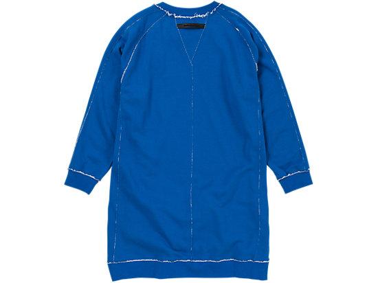 女士卫衣连衣裙 蓝色