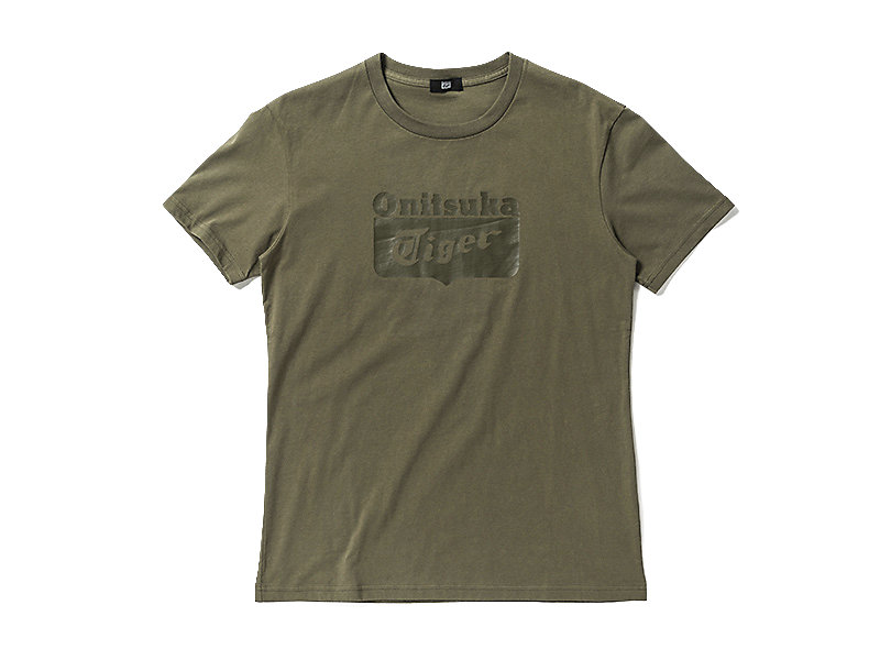 T-SHIRT LOGO OLIVE 1 FT