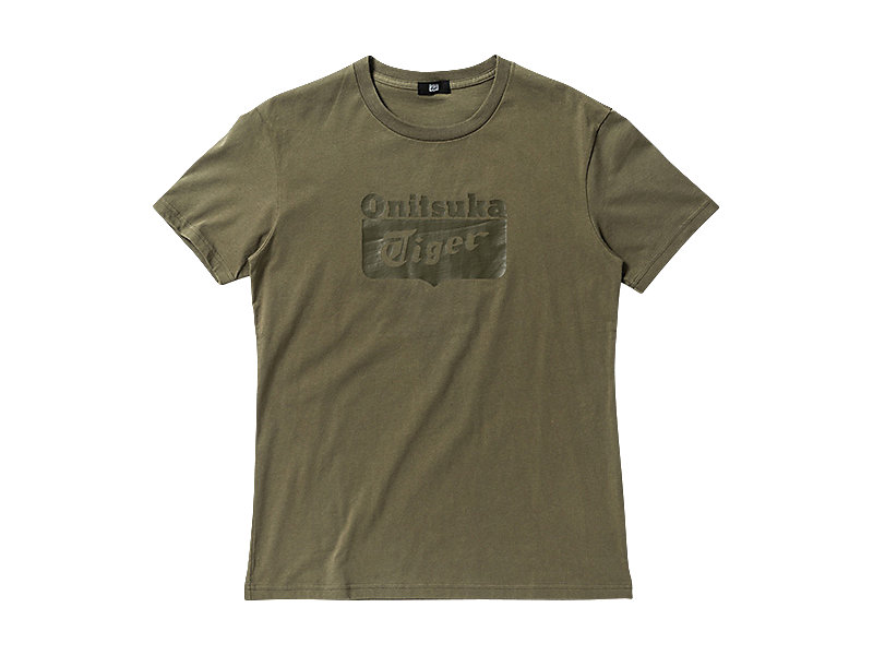 LOGO T-SHIRT OLIVE 1 FT