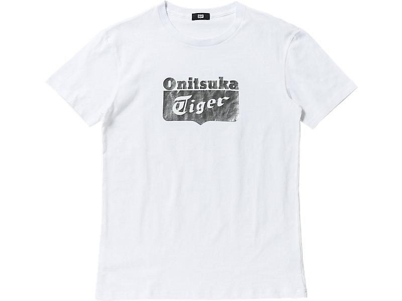 Logo T-Shirt White/Silver 1