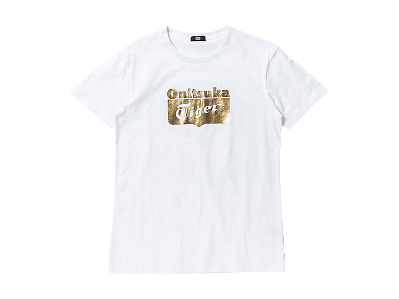 LOGO T-SHIRT WHITE/GOLD 1