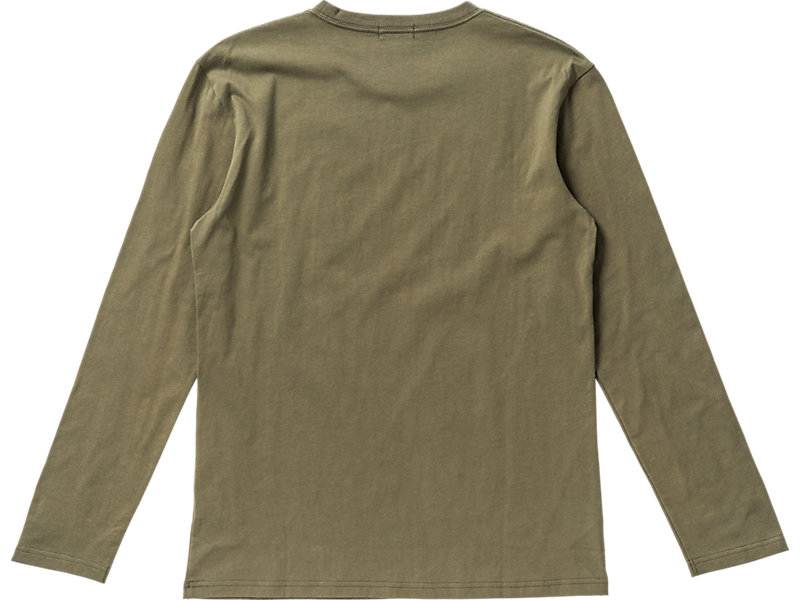 Logo Long Sleeve T-Shirt Olive 5 BK