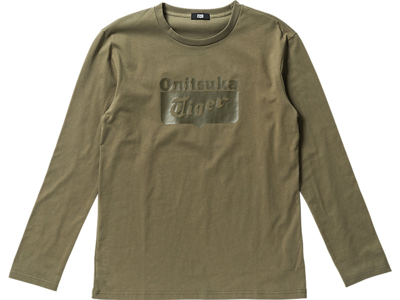 Logo Long Sleeve T-Shirt Olive 1 FT