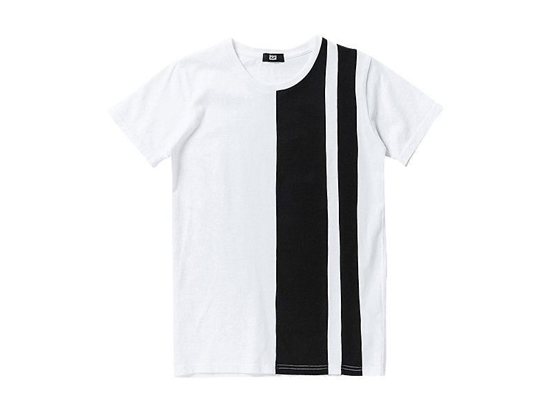 T-SHIRT WHITE/BLACK 1