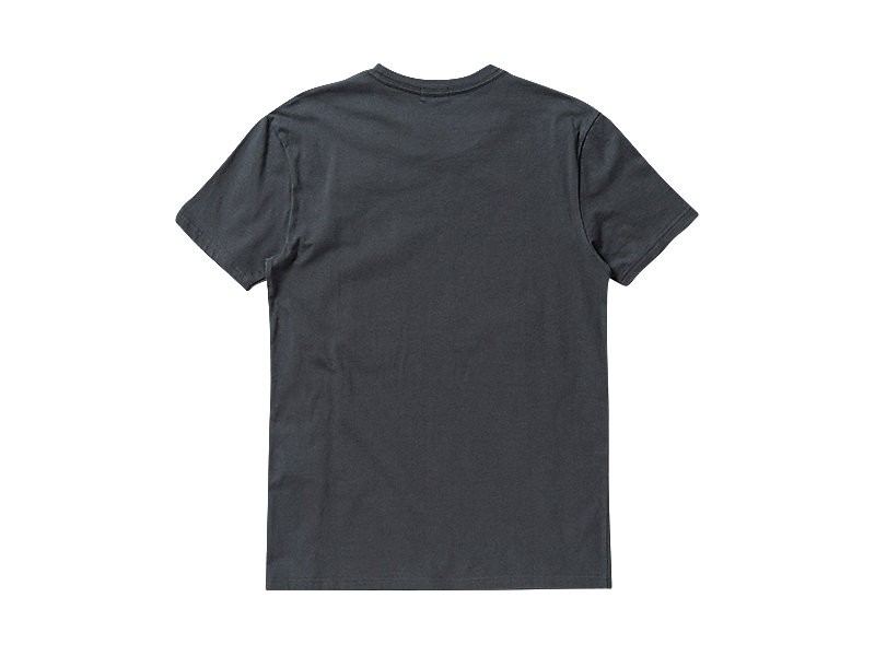 GRAPHIC T-SHIRT CHARCOAL/A 5 BK