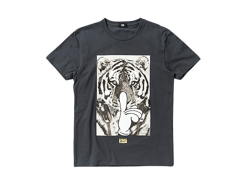 GRAPHIC T-SHIRT CHARCOAL/B 1