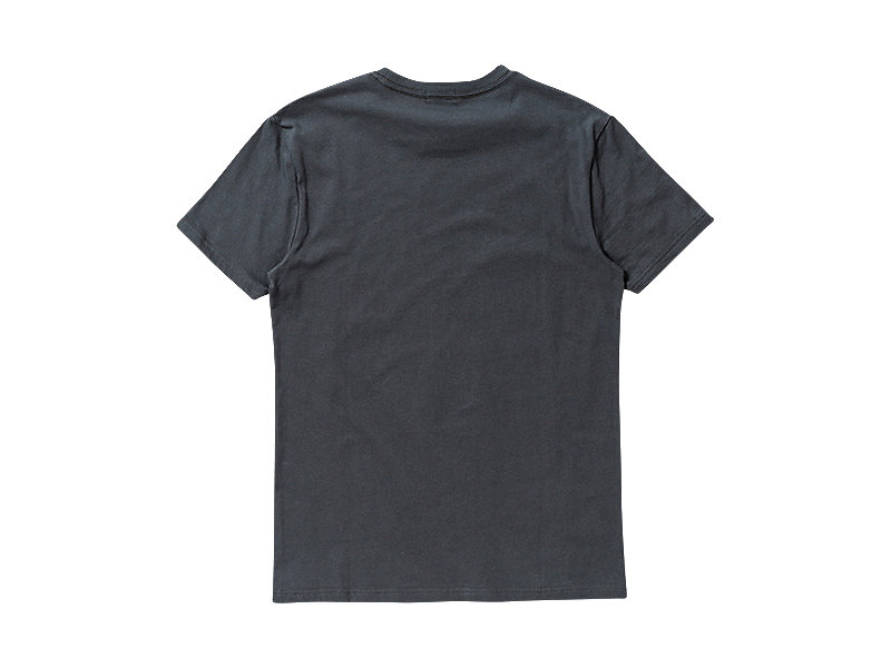 GRAPHIC T-SHIRT CHARCOAL/C 5 BK