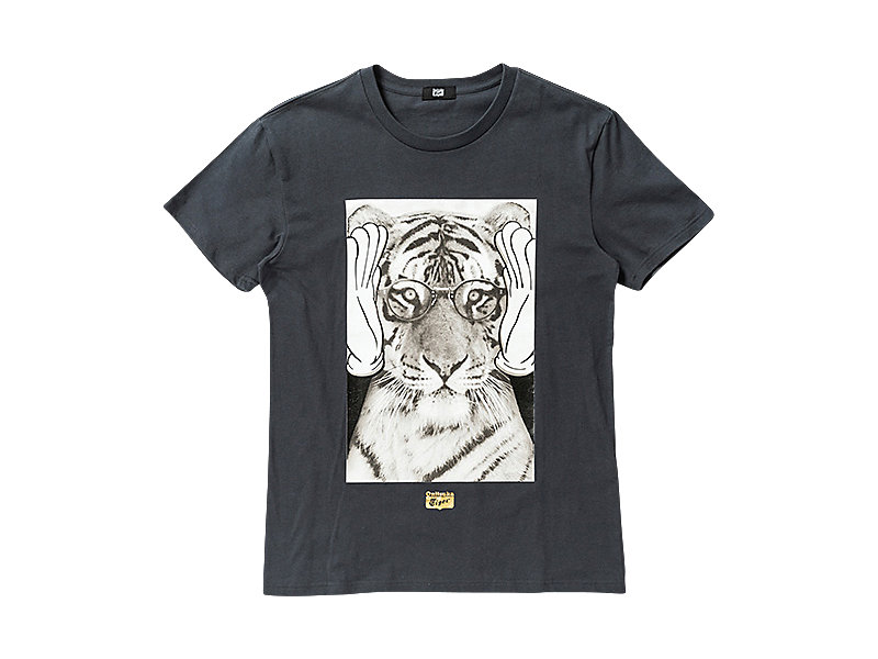 GRAPHIC T-SHIRT CHARCOAL/C 1 FT
