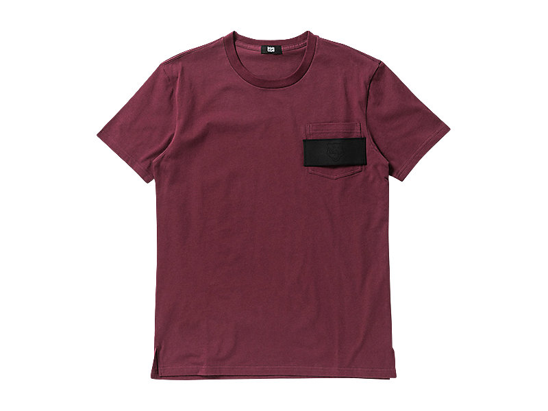 T-SHIRT BURGUNDY 1 FT