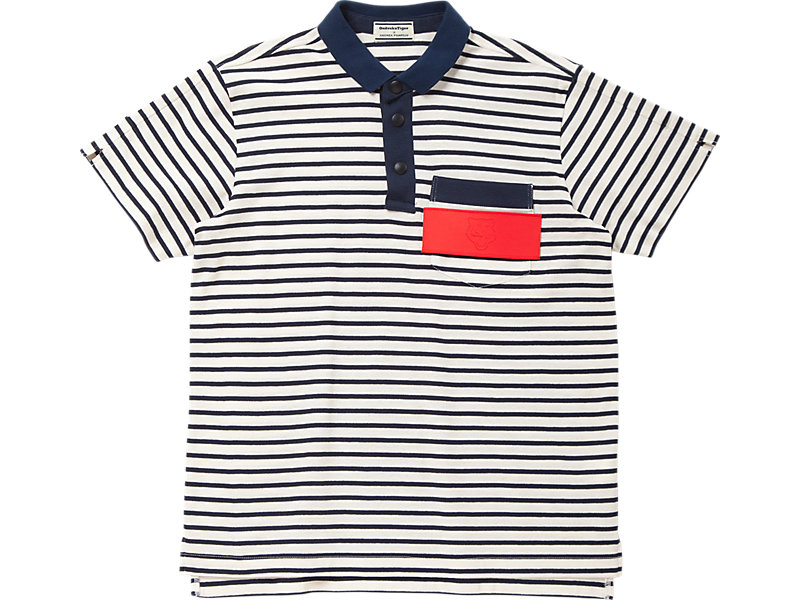POLO WHITE/NAVY 1 FT