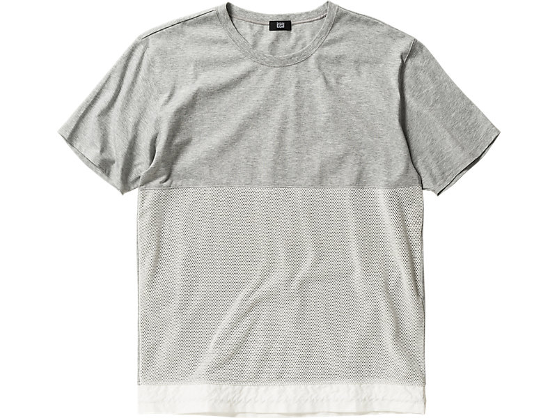 T-SHIRT HEATHER GRAY/WHITE 1 FT