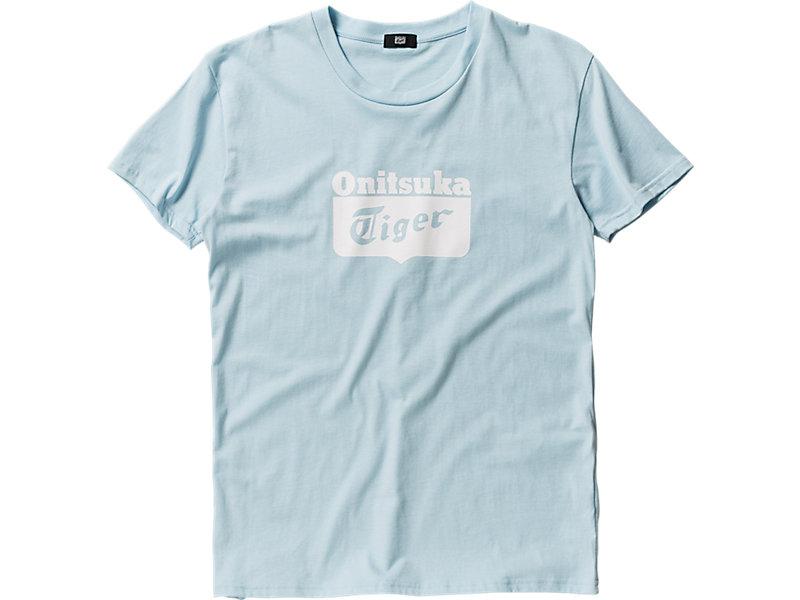 LOGO T-SHIRT SAXE/WHITE 1 FT
