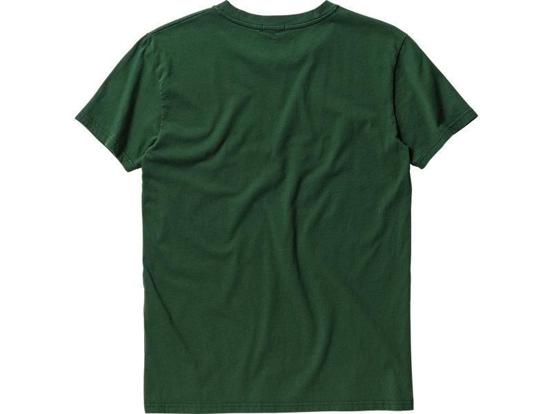 LOGO T-SHIRT GREEN/RED 5 BK