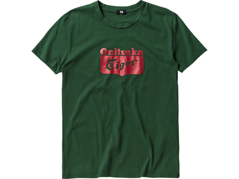 LOGO T-SHIRT GREEN/RED 1 FT