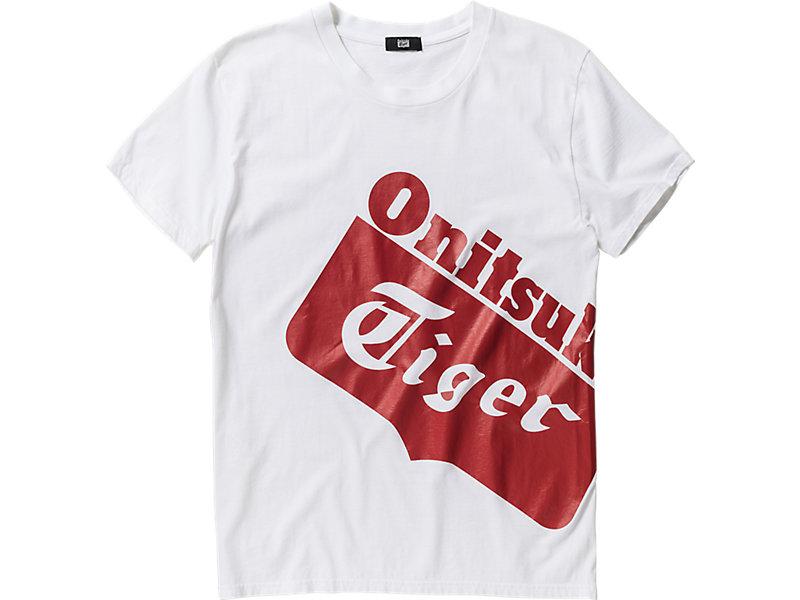 LOGO T-SHIRT WHITE/RED 1 FT