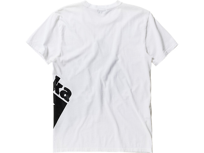 LOGO T-SHIRT WHITE/BLACK 5 BK