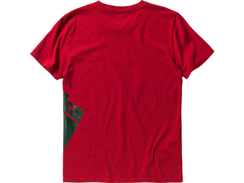 LOGO T-SHIRT RED/GREEN 5 BK