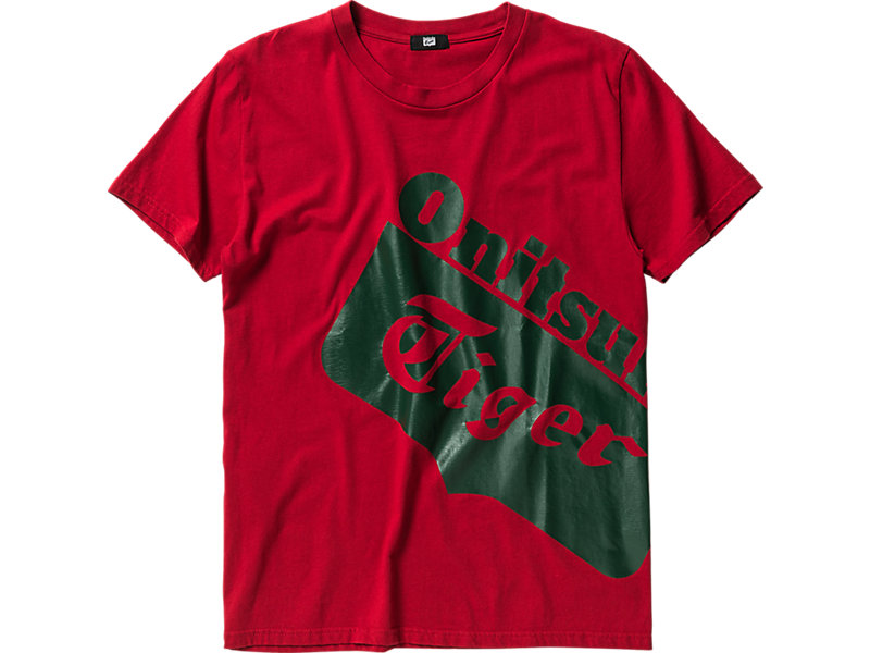 LOGO T-SHIRT RED/GREEN 1