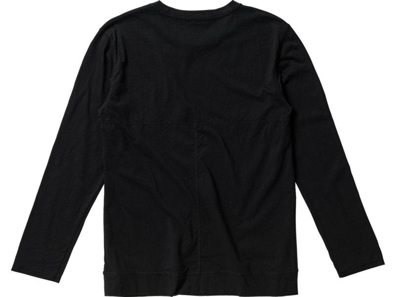 LONG SLEEVED T-SHIRT BLACK 5 BK