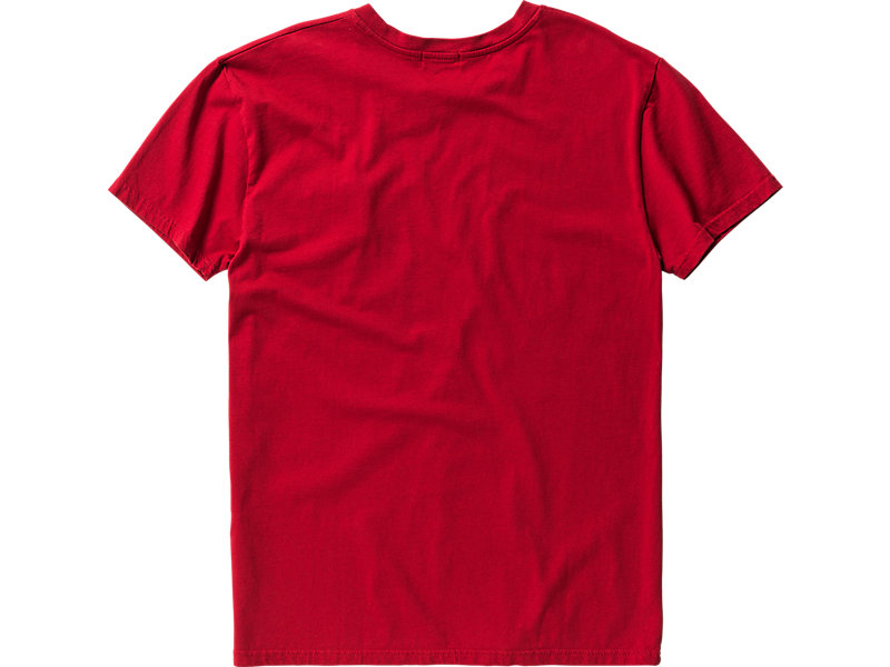 T-SHIRT WITH POCKET RED 5 BK