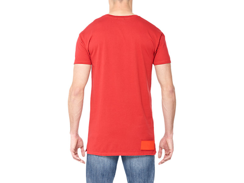 LANGARM-T-SHIRT RED 5 BK