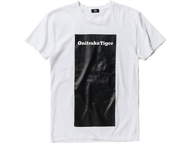 GRAPHIC T-SHIRT WHITE/BLACK 1 FT
