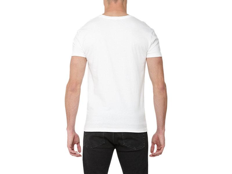 GRAPHIC T-SHIRT WHITE/LOGO PRINT 5 BK