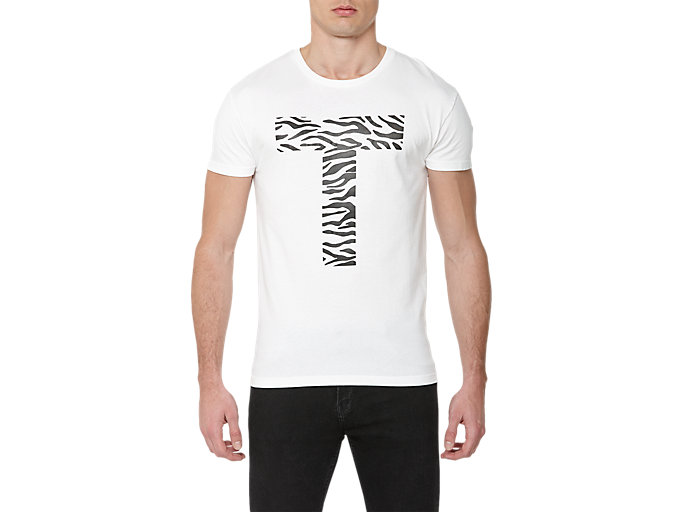 GRAPHIC T-SHIRT, WHITE/PRINT A