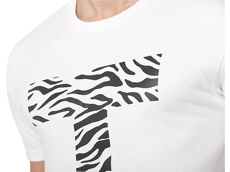 GRAPHIC T-SHIRT WHITE/LOGO PRINT 9 Z