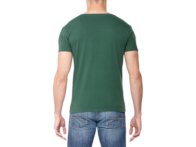 GRAPHIC T-SHIRT GREEN/PRINT B 5 BK