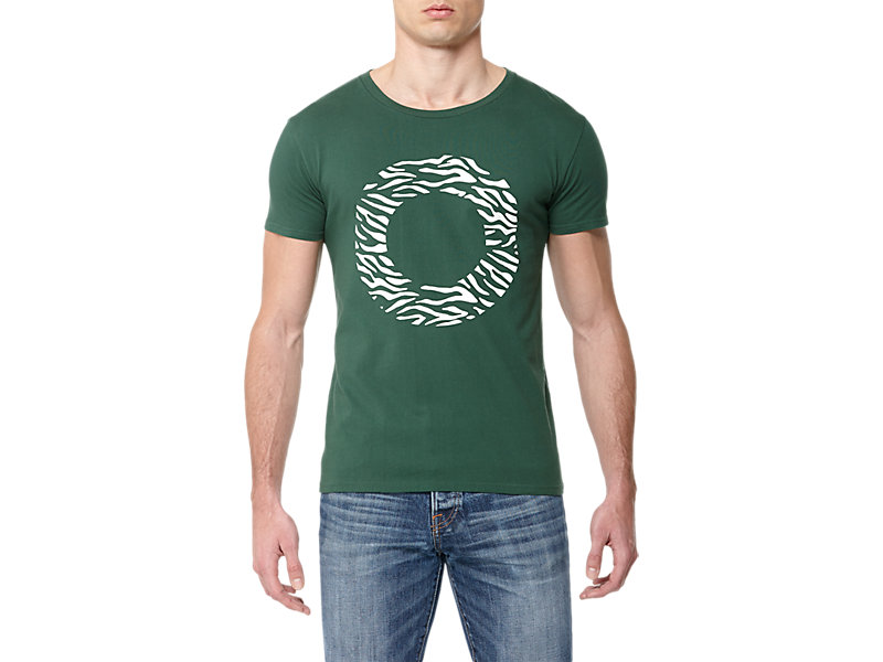 GRAPHIC T-SHIRT GREEN/PRINT B 1 FT
