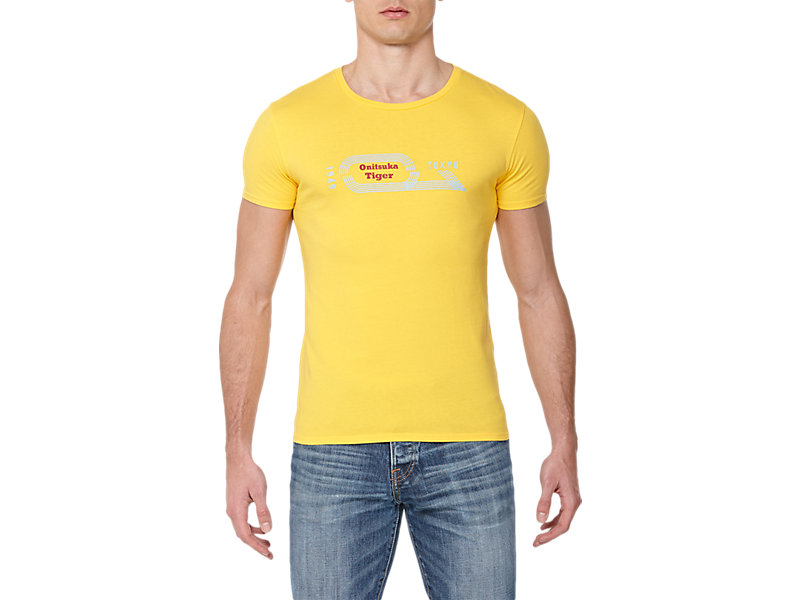 GRAPHIC T-SHIRT YELLOW 1 FT
