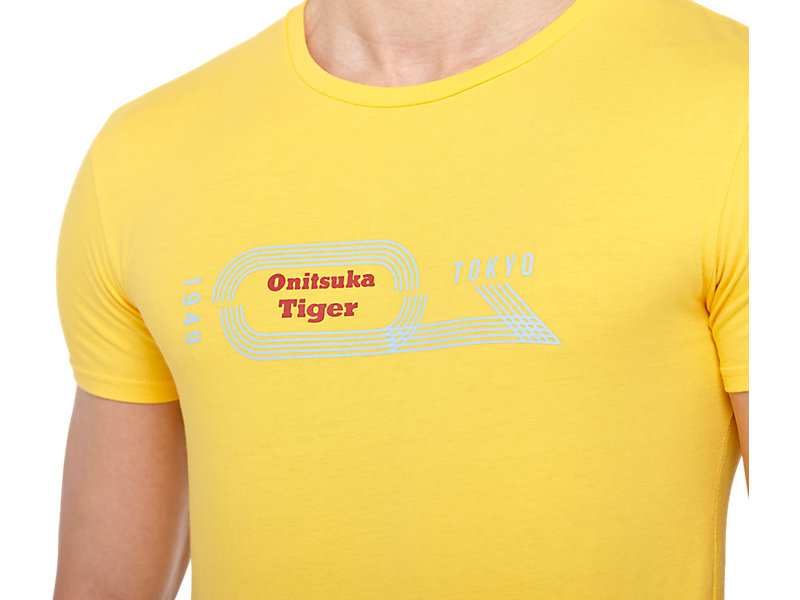 GRAPHIC T-SHIRT YELLOW 9 Z